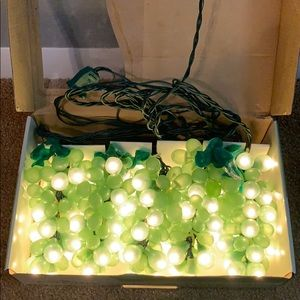Grape lights, many uses year round!